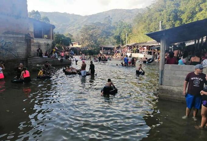 Charcos de Barbosa, Antioquia.