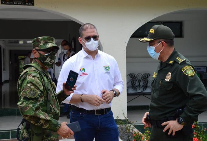 Autoridades Valle del Cauca