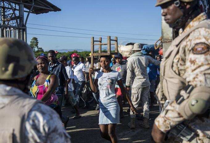 Frontera entre República Dominicana y Haití