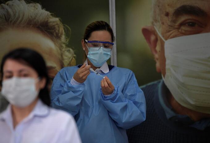 Vacunación contra la covid-19 en Bogotá