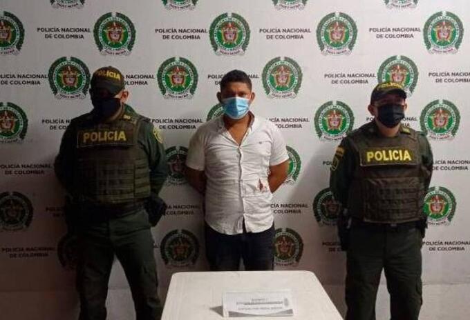 Julio Rafael Caballero Rojas, de 24 años