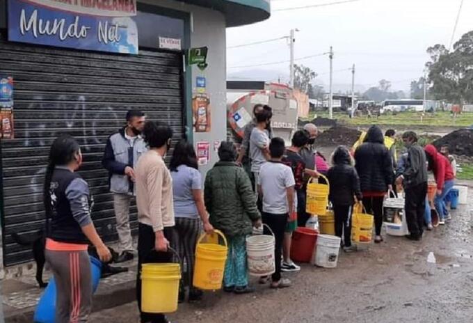 En Facatativá no hay agua desde hace una semana