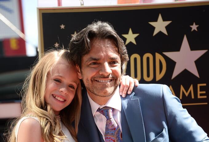 Loreto Peralta y Eugenio Derbez