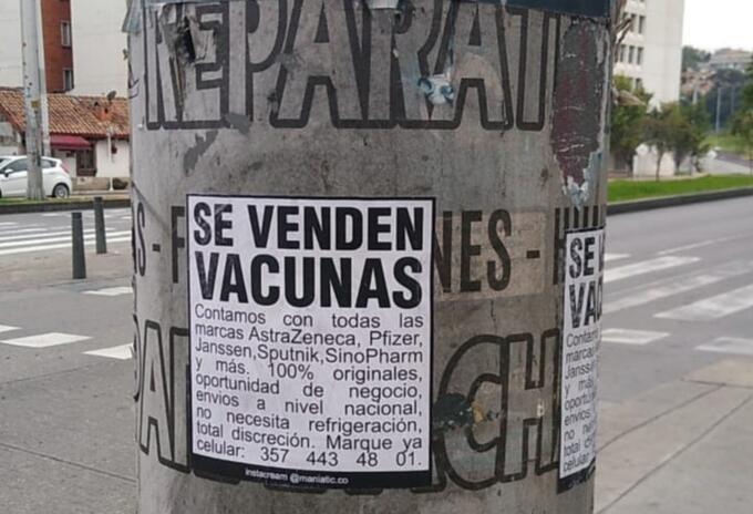 Se venden vacunas