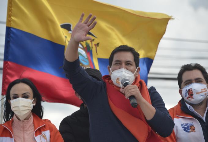 Andrés Arauz, candidato presidencial de Ecuador