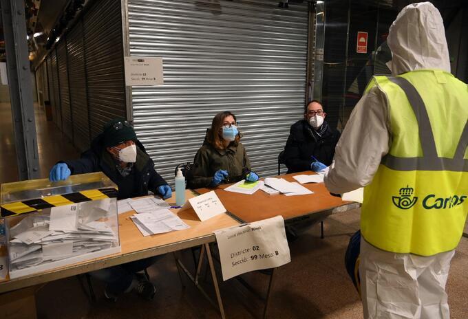 Elecciones en Cataluña en medio de pandemia.