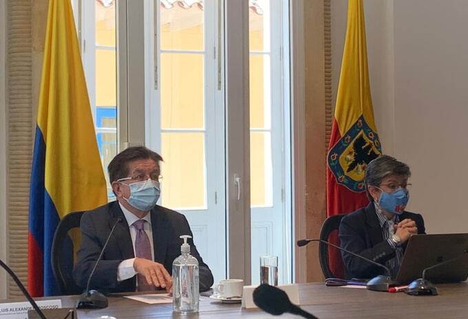Fernando Ruiz y Claudia López