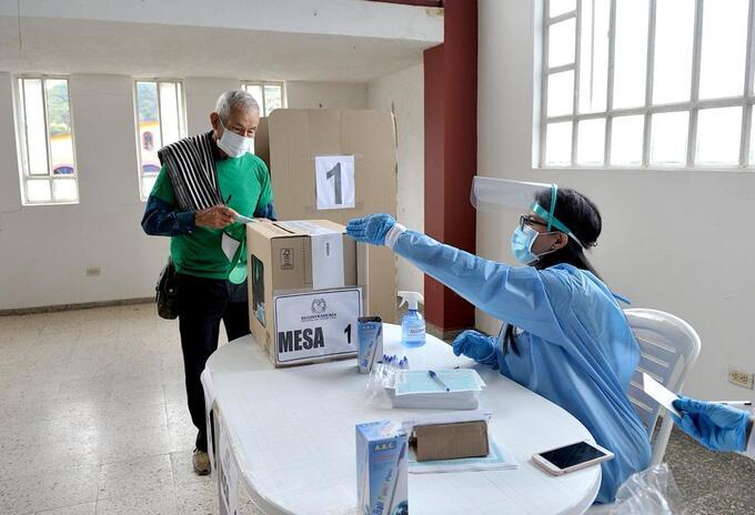 Elecciones en Paez Boyacá