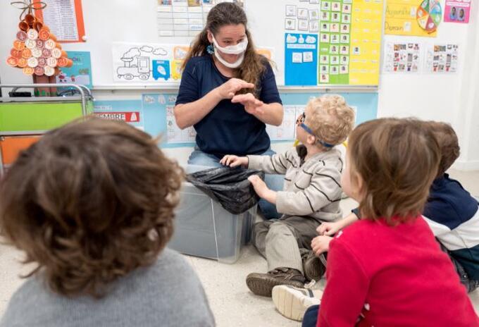 Jardines infantiles en pandemia - AFP