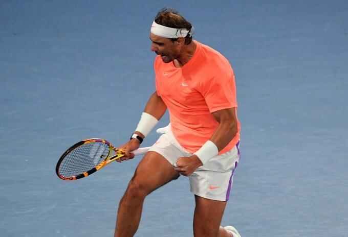 Rafael Nadal ganó en Abierto de Australia