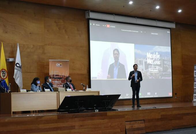 Audiencia de revocatoria del mandato de Daniel Quintero, alcalde de Medellín.