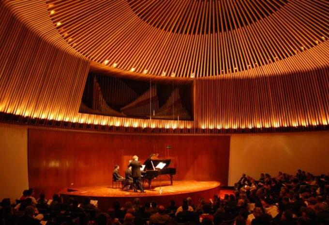 Sala de conciertos de la BLAA