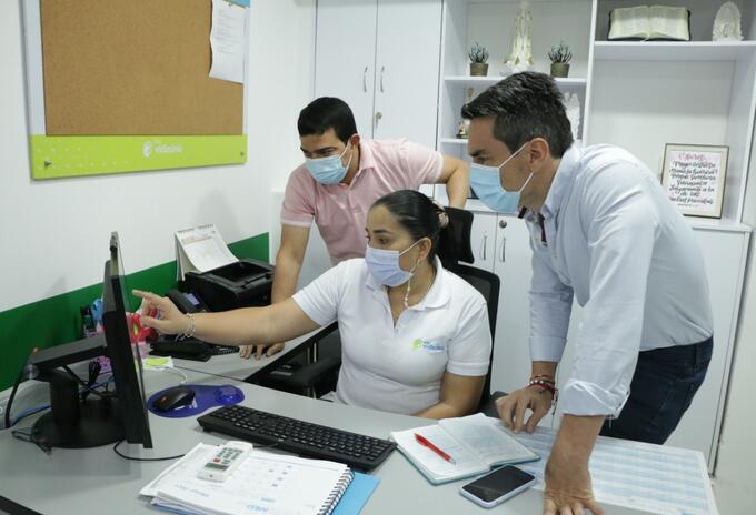 Las autoridades de salud tienen todo listo para el inicio de la vacunación.