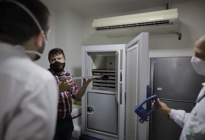 Ultracongelador Palmira