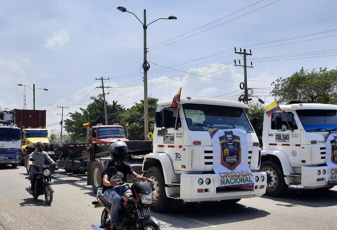 Cartagena se sumó a la gran cruzada nacional contra el cobro de peajes