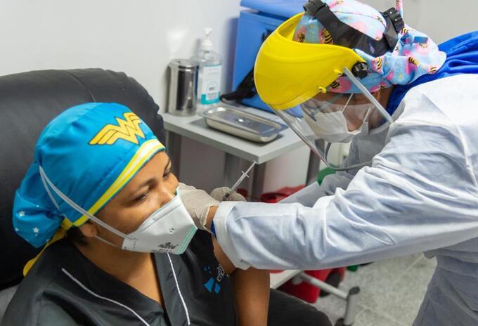 Vacunación en Barranquilla