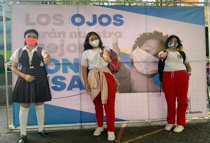 Modelo de alternancia en las escuelas de Medellín.