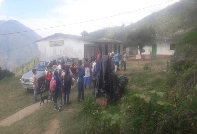 Desplazamiento en Peque, Antioquia.