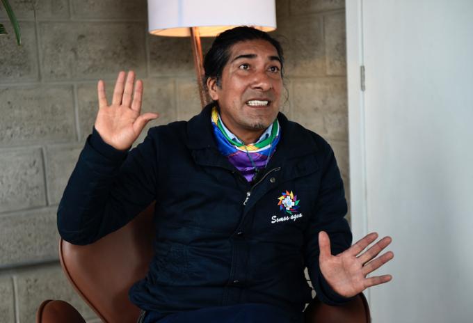 Yaku Pérez, candidato a la presidencia de Ecuador