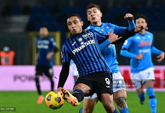 Luis Muriel; Atalanta vs Napoli, Serie A