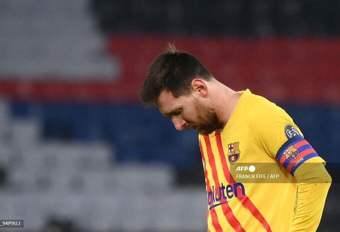 Barcelona, Champions League, Messi