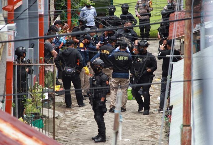 Indonesia atentado