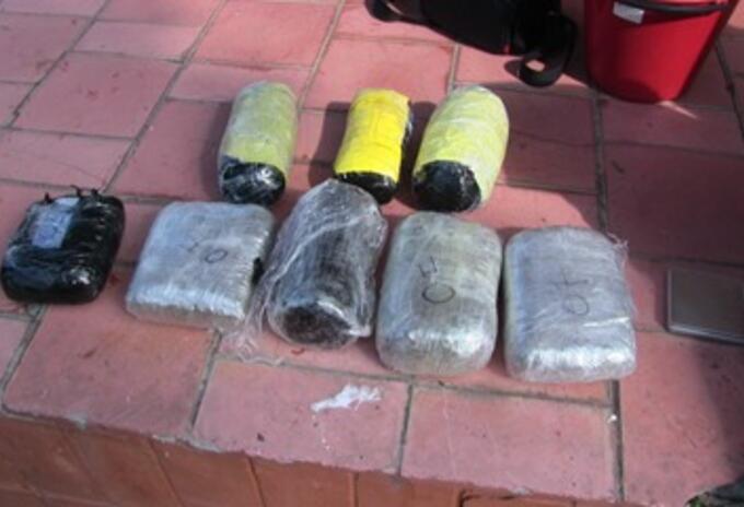 Los funcionarios ingresaron 37 kilos de marihuana y 1.7 kilos de cocaína a la cárcel El Pedregal de Medellín.