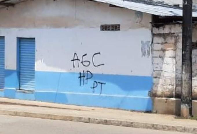 Grafitis El Bagre