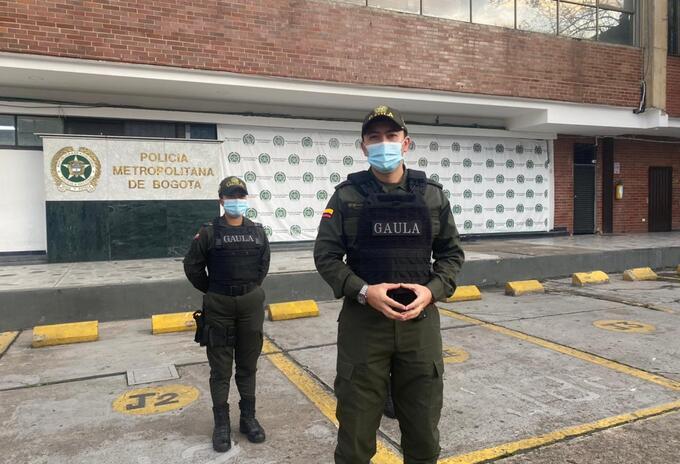 *Mayor Adrián Ramos Ruiz, jefe Grupo GAULA Bogotá
