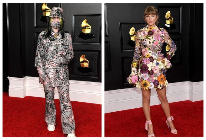 Alfombra roja de los Grammy 2021