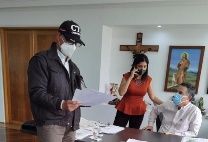 Capturan al gobernador Aníbal Gaviria Correa