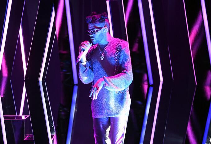 Bad Bunny en los Grammy 2021
