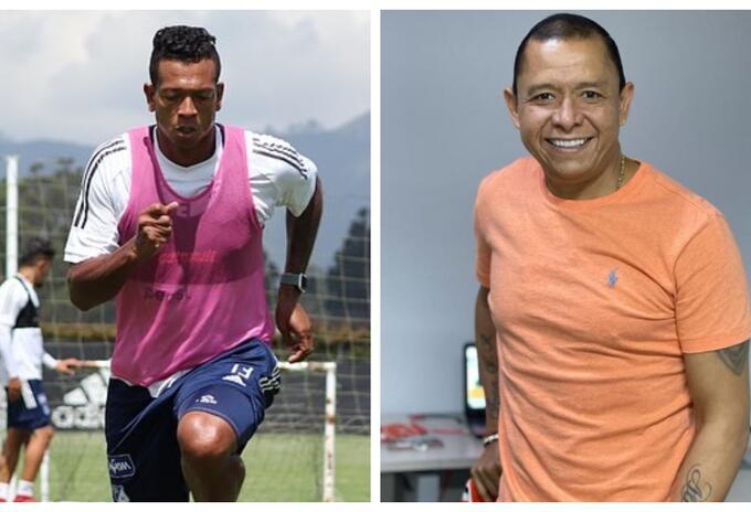 Fredy Guarín e Iván René Valenciano