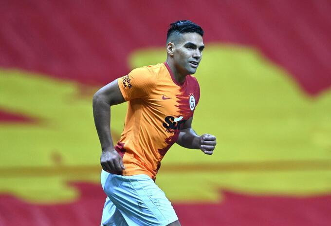 Falcao marcó gol con Galatasaray