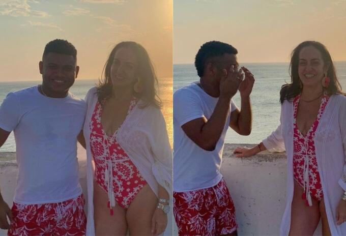 Fotos] María Fernanda Cabal y su tarde en playa con Miguel Polo Polo   RCN  Radio