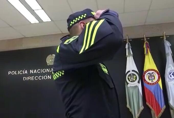 Nuevo uniforme de la Policía de Colombia