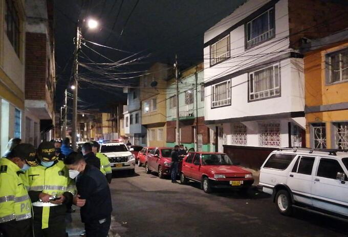 Hurto de vehículo en Bogotá