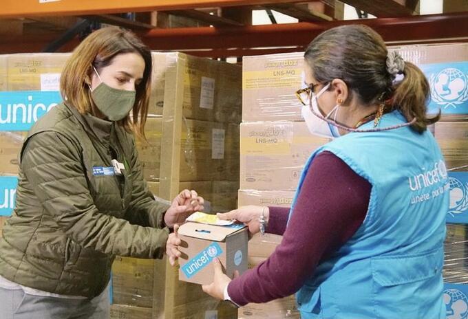 Ayudas Alimentarias ICBF Unicef