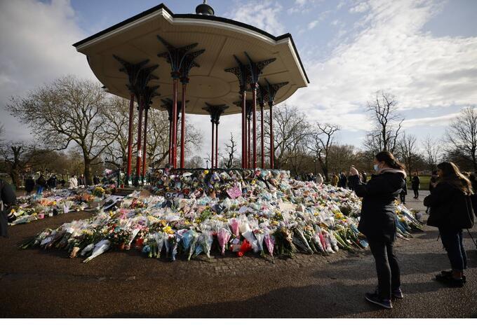 Conmemoración a Sarah Everard - Londres