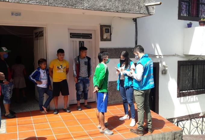 Personería alertó sobre el aumento de desplazamientos de población indígena en Medellín.
