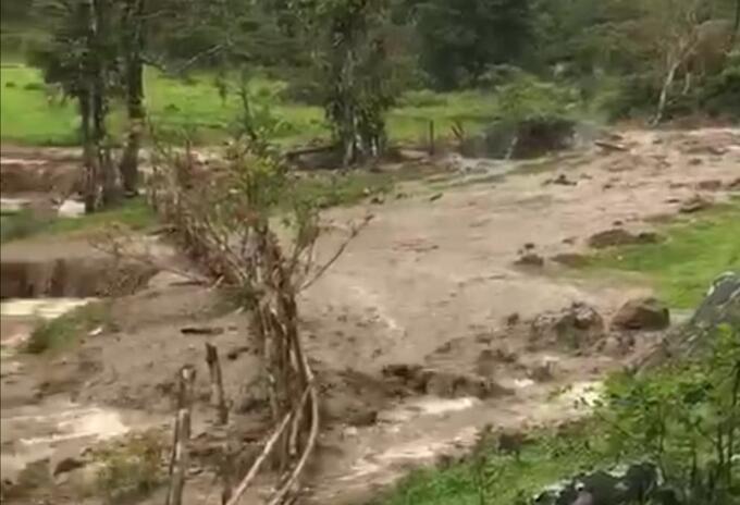 Desbordamiento Pueblo Rico (Risaralda)