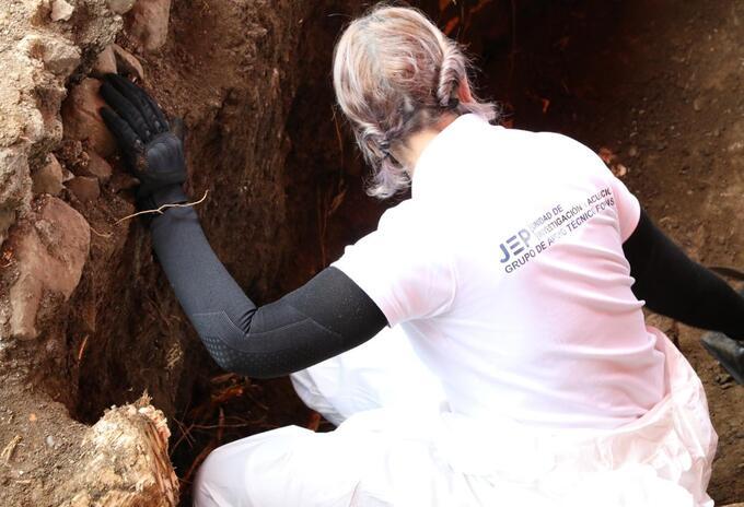 Exhumaciones Restos Dabeiba Antioquia