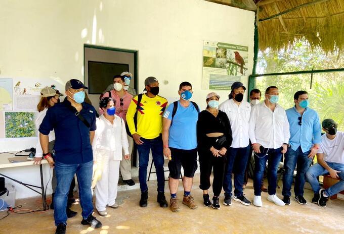 Congresistas colombianos en un encuentro bilateral en Cancún