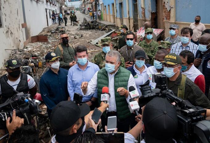 Presidente Duque en Cauca