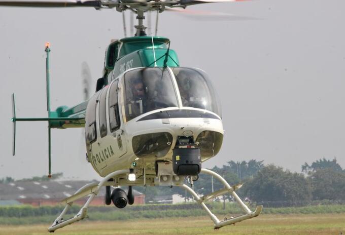 Helicóptero Policía Nacional.