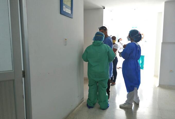 Alerta por el crecimiento de camas UCI en el Santa Marta, mantienen las autoridades de salud