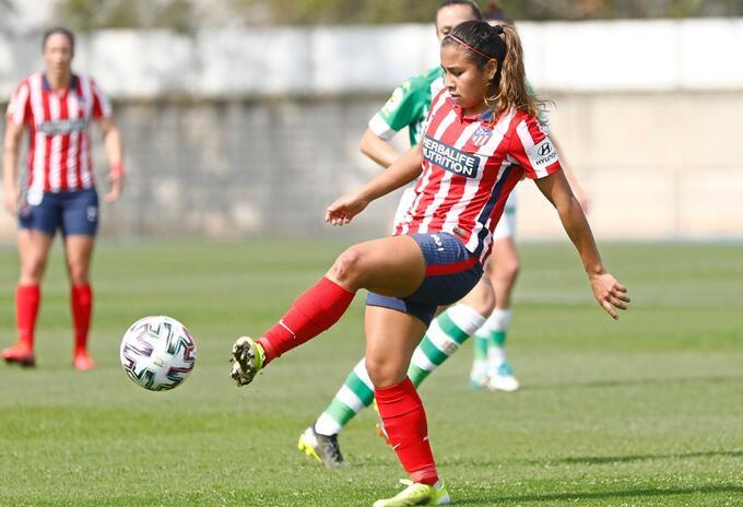 Leicy Santos. Atlético Femenino