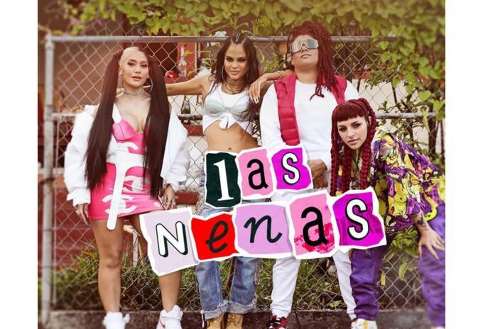 Natti Natasha, Farina, Cazzu y La Duraca en 'Las Nenas'