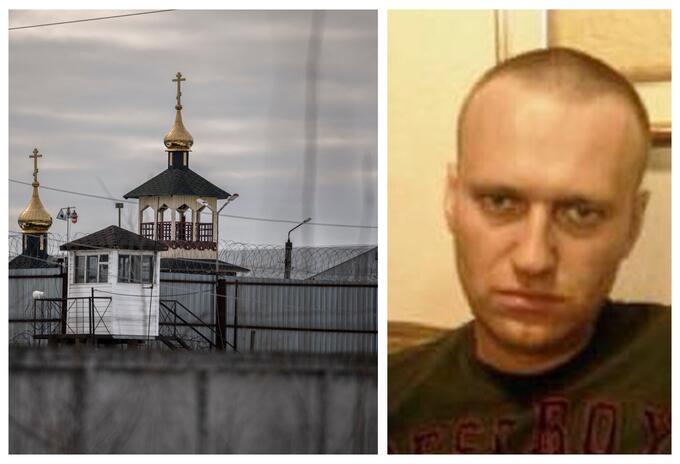 Alexéi Navalni en prisión en Rusia