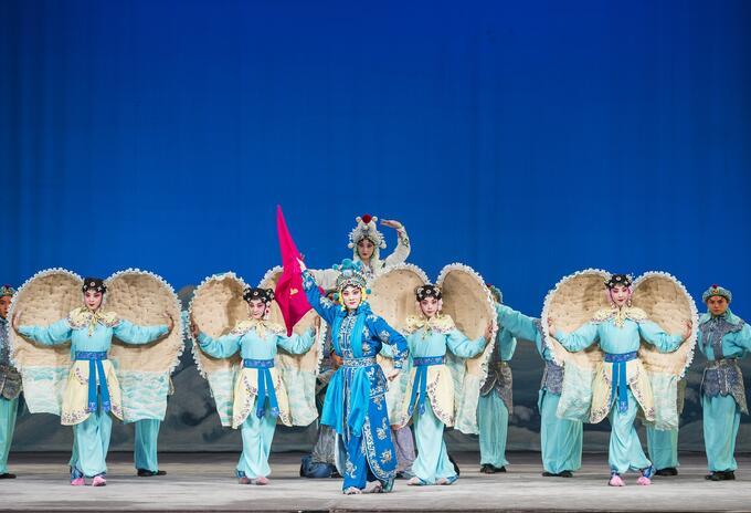 La leyenda de la serpiente blanca, de la Ópera de Pekín